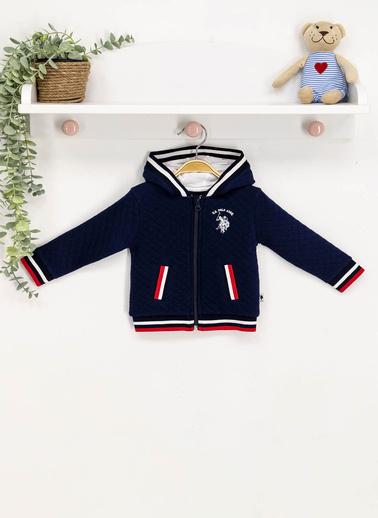 U.S. Polo Assn. Lisanslı  Bebek Sweatshirt Lacivert